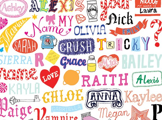 Hennie Haworth Typography Hero Image represented by Kids Corner