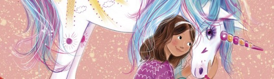 Evie and Sunshine Unicorn Academy book cover by Lucy Truman