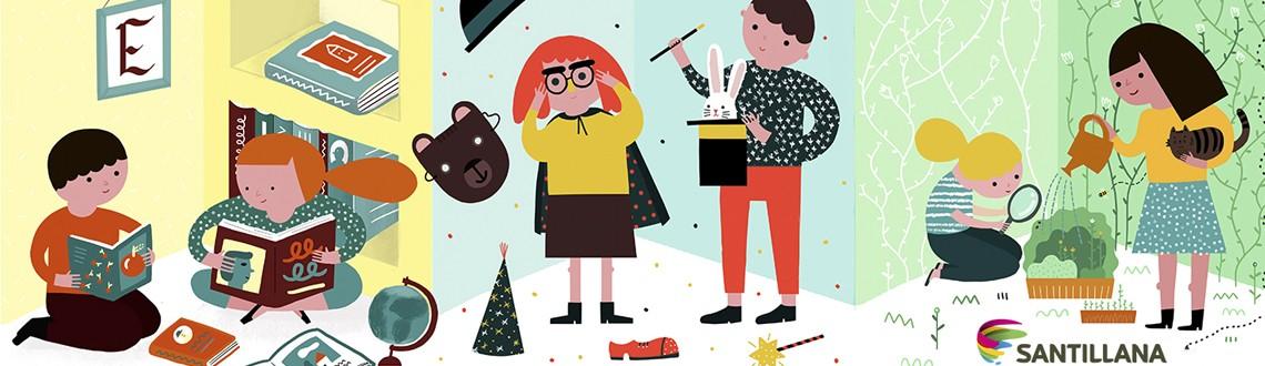 Santillana classroom poster by Ana Seixas news feature image