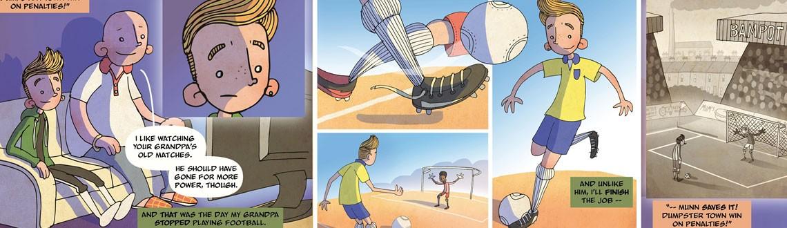 Ben Scruton Grandpa's Goalscarers News Feature Image