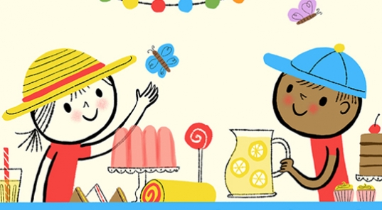 Nila Aye digital style Hero Image represented by Kids Corner