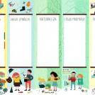 Santillana classroom poster by Ana Seixas news item