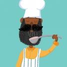 Cory Reid chef artwork