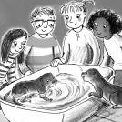 Hannah George Animal Adventure Club Otter News Item