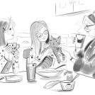 Lucy Truman Poppy's Place Secrets at the Cat Café News Item