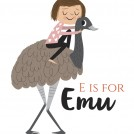 Nila Aye Alphabet Series News Item Emu
