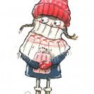 Zoe Sadler New work News Item Winter Girl